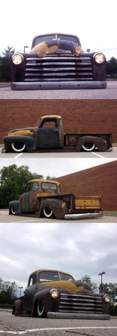 1950 #chevy Great for clearing your driveway in January..Re-pin....Brought to you by Agents of #CarInsurance at #HouseofinsuranceEugene
