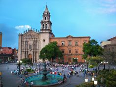 """San Luis Potosi, Mexico...our home base when I """"studied"""" abroad...loved it."""