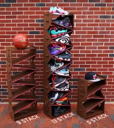 Sneaker storage, Kickstarter, Sole Stacks | Complex