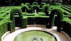 Early American Gardens: Design - Maze