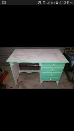 Shabby chic style desk