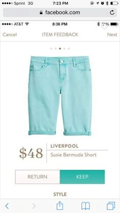 Stitch Fix Liverpool Susie Bermuda Short Modest Shorts, Long Shorts, Stitch Fix App, Stitch Fit, Winter Shorts, Stitch Fix Outfits, Stitch Fix Stylist, Style Challenge, Fashion Outfits
