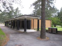 sigurd lewerentz Nordic Classicism, Classical Architecture, Cemetery, Denmark, Woodland, Sweet Home, Traditional, Explore, Contemporary