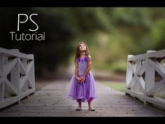 Outdoor Portrait Edit In Photoshop CC Tutorial - YouTube