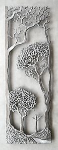 """Provence""  Metal Wall Sculpture"