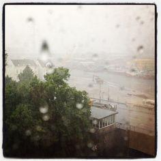 Channel bei Regen