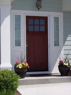 This is the exact front door I want. It will look great next to the etched side windows we just got
