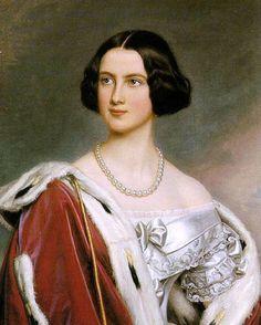 The beautiful prussian mother of Ludwig 2 of Bavaria: Marie Friederike von Preußen (1825–1889) ,Königin von Bayern