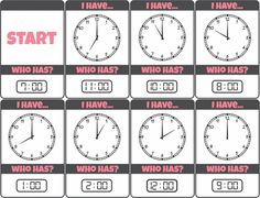 KM Classroom: Telling Time Bundle