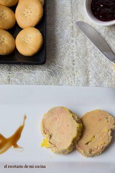 Receta para hacer foie micuit partiendo de un foie gras