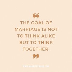 I can't tell you how many arguments we have been in over the years because we don't think alike.  But, after 10 years of marriage we are finally realizing we don't have to think alike as long as we think together.  Listen in for our advise on ways you can come to a compromise and focus on more thinking together and less arguing.
