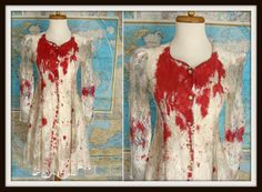 90s Bloody White Corset Lace Dress INNOCENT by wardrobetheglobe, $68.00