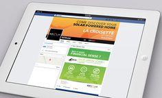 GOSolar Solar Powered Social Media Facebook #Digital #o8 #Origin8Concepts #Branding