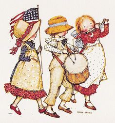 ♥ Holly Hobbie { fife and drum }
