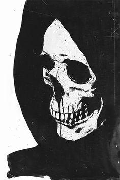 Grim reaper (teaser) by Essentialist Arte Horror, Horror Art, Images Gif, Skeleton Art, Skull Wallpaper, Skull And Bones, Skull Art, Macabre, Occult