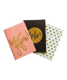 Look what I found on #zulily! Trend Notebook Set #zulilyfinds