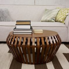 Bentwood Coffee Table | West Elm...better for toddlers...but not an ottoman where you can't rest a wine glass