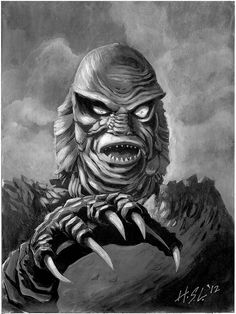 """Creature from the Black Lagoon"" by Shayne Liles"