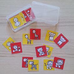 """Spielkärtchen """"Rot gegen Gelb"""" (z.B. fürs Kopfrechnen) Nachdem meine alten Spielkärtchen für das altbekannte Spiel """"Rot gegen Gelb"""" komple..."""