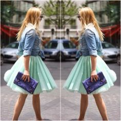 How to Chic: FOCUS ON COLORS : MINT
