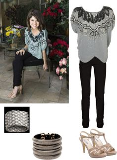 """""""Get The Look: Selena Gomez"""" by kaitlynlorenz on Polyvore"""