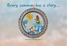 Fill an Origami Owl locket with your summer memories. These items and more at carri.origamiowl.com