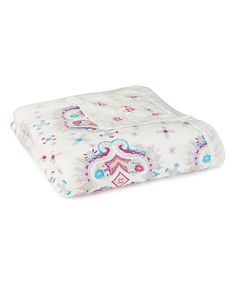 aden + anais Flower Child Kaleidoscope Silky Soft Dream Blanket | zulily