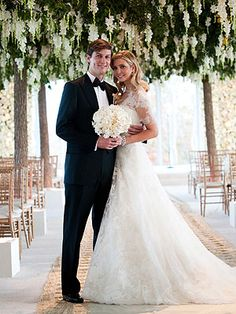 The Inside Scoop on Ivanka Trump's Wedding Gown and Hair – Style News - StyleWatch - People.com
