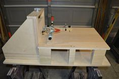Horizontal Router Table Fixture