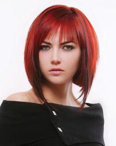 Peinados modernos cabello rojo para el 2012 15