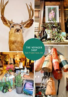 The Voyager Shop in the Mission, San Francisco #wanderingsole
