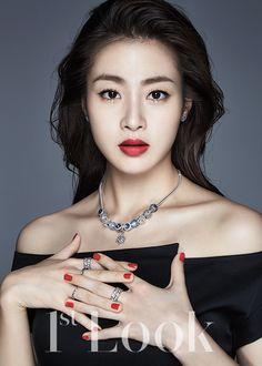 korean actress kang so ra 1st look magazine december 2015 photos