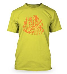 """I dig Organic"" Spring collection in yellow, order yours here today https://fabrily.com/GOSpring"