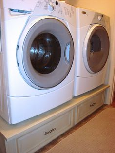 DIY laundry pedestalslovecan I convince my husband to build