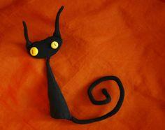 finger puppet cat