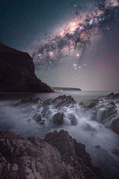 Second Valley, Australia #Second #Valley, #Australia #milkyway #stars #night