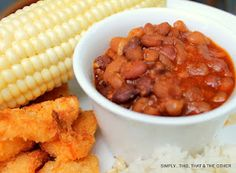 Simply...This. That. And The Other: Scott's Firehouse BEST Baked Beans