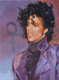 Music Icon - Prince by ShawnSheaArt on Etsy
