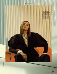 Madame Figaro - Business Modèle by Mehdi Sef