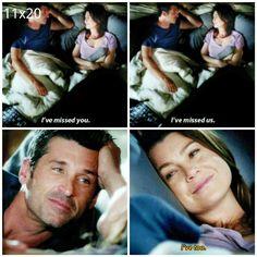 Grey's Anatomy #DerekandMeredith #Merder