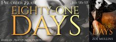 EIGHTY-ONE DAYS by Zoë Mullins    Genre: Contemporary Erotic Romance  Eric didnt know Luke would be heartbroken when he left town to join a hotshot forest fire crew in Western Canada. Theyd been best friends since kindergarten had gone to school together had bought their first car and a home together and had shared their lovers. At some point friendship had turned to love.  Luke didnt expect that when hed brought his crazy cat in for stitches that his heart that would be mended by the sassy…