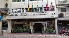 Hotel Embajador Montevidéu - Uruguai Março 2016