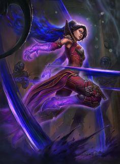 Illustrastion done for Diablo 3 deviantart contest