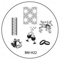 Bundle Monster Image Plate BM-H22 (2013 Holiday Collection)