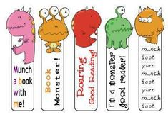 Bookmarks - other other free printables