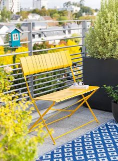 Salons et meubles de balcon: notre shopping malin - Marie Claire Outdoor Chairs, Outdoor Furniture, Outdoor Decor, Marie Claire, Shopping, Home Decor, Fold Out Table, Folding Chair, Balconies