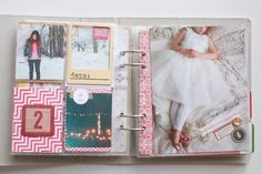 December Daily - going to try printing pics on patterned cardstock...