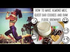 Almond milk recipe with dates and a use for the almond pulp all in one!