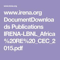 PDF: Renewable Energy Zones for the Africa Clean Energy Corridor