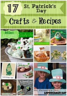 17 St. Patrick's Day crafts & recipes
